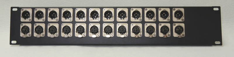 Audio Patch Panel : dt 12 audio patch panel 12 channel trinity electronics systems ltd ~ Vivirlamusica.com Haus und Dekorationen